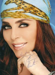 Veronica Castro - автограф в наши дни / характер по автографу