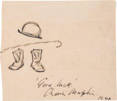 Чарли Чаплин - автограф 1944 г.